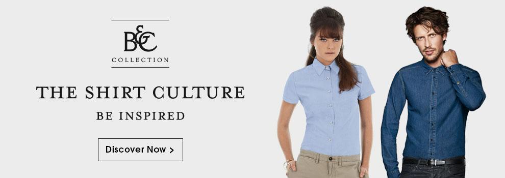 Discover B&C Shirts