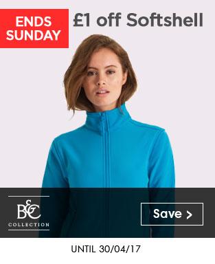 B&C Softshell - £1 Off