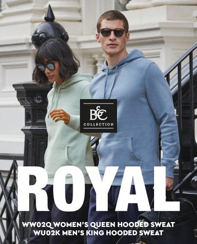 B&C Royal Hoodies