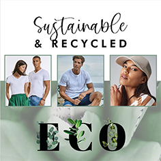 sustainable and recycled