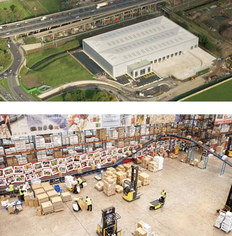 UK Distribution Centre - M6 Junction 9, Wednesbury, West Midlands