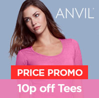 10p Off Anvil Tees