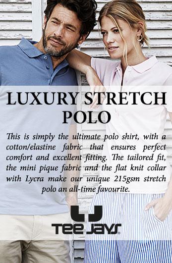 Tee Jays Luxury Stretch Polo