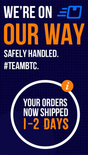 Your orders now shipped 1-2 days