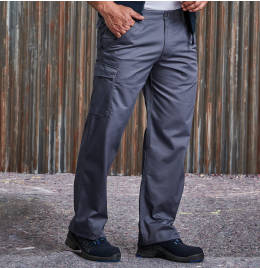 View Russell Polycotton Twill Trousers (Reg)