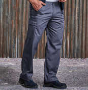 View Russell Polycotton Twill Trousers (Tall)