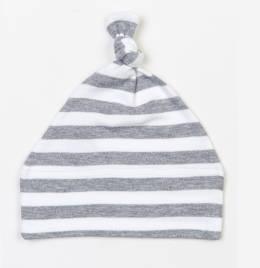 View Babybugz Stripy One Knot Hat