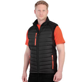View Result Black Compass Softshell Gilet