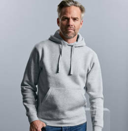 View Russell Mens Authentic Hooded Sweat