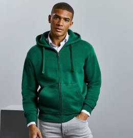 View Russell Mens Authentic Zipped Hood