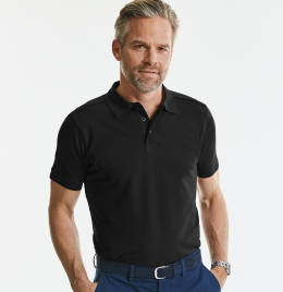 View Russell Tailored Stretch Polo