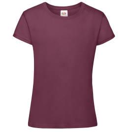 View Fruit Of The Loom Girls Sofspun T-Shirt