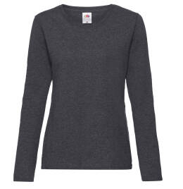 View FOTL Lady Fit Long Sleeve Crew Neck T