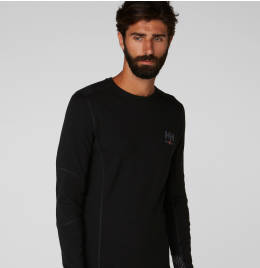 View Helly Hansen Merino Crewneck Baselayer