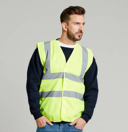 View UCC 4 Band Safety Waistcoat