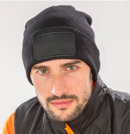 View Result Recycled Dble Knit Printer Beanie