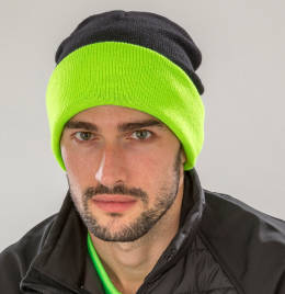 View Result Recycled Black Compass Beanie