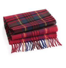 View Beechfield Classic Check Scarf