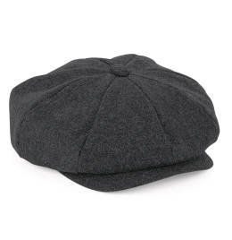 View Beechfield Melton Wool Baker Boy Cap