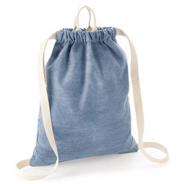 View Bagbase Denim Gymsac
