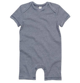 View Babybugz Baby Striped Playsuit