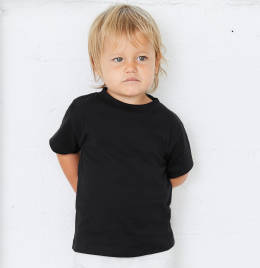 View Canvas Toddler Jersey S/Sleeve Tee