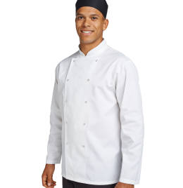 View Dennys Budget L/Sleeve Chefs Jacket