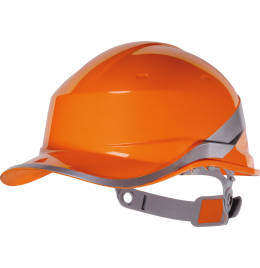 View Delta Plus Hi-Vis Baseball Safety Helmet