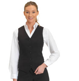 View Dennys Womens Self Back Waistcoat