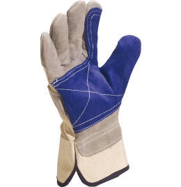 View Delta Plus Cowhide Split Leather Gloves