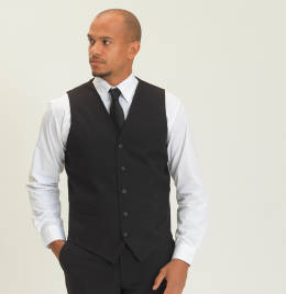 View Dennys Unisex Lined Waistcoat