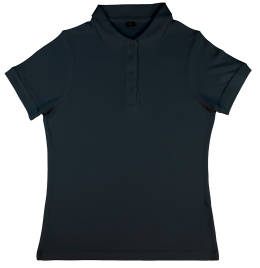 View Nakedshirt Grace Viscose/cotton Polo