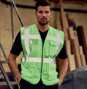 View Yoko Hi Vis Executive Vest