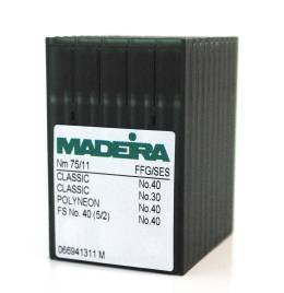 View Madeira Sharp Point 65 Needles (100 Pak)
