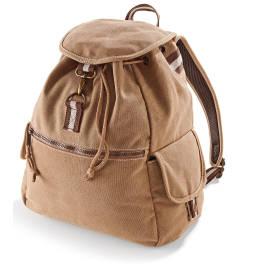 View Quadra Desert Canvas Backpack