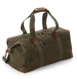 View Quadra Heritage Waxed Canvas Holdall