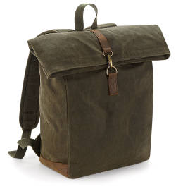 View Quadra Heritage Waxed Canvas Backpack