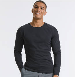 View Russell Mens Pure Organic L/S Tee