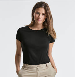 View Russell Womens Authentic Organic Tee