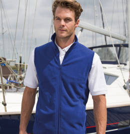 View Result Microfleece Gilet