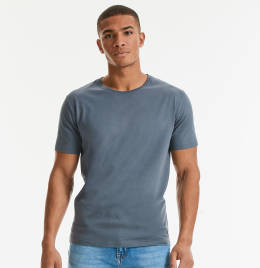 View Russel Mens Pure Organic Heavy Tee
