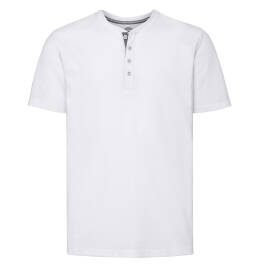 View Russell HD Henley Tee