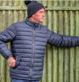 View Result Urban Mens Ice Bird Padded Jacket