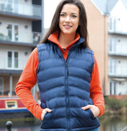 View Result Urban Lady Ice Bird Padded Gilet