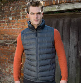 View Result Urban Mens Ice Bird Padded Gilet