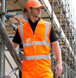 View Result Safe-Guard Zip Safety Tabard