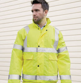 View Result Safe-Guard Winter Blouson Jacket