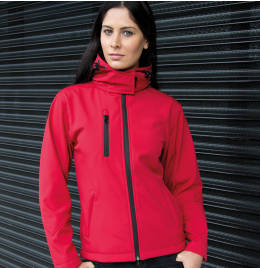 View Result Core Ladies Lite Hooded Softshell