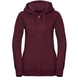 View Russell Ladies Authentic Zipped Hoodie