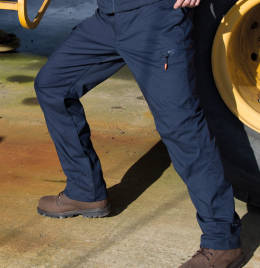 View Result Workguard Stretch Trousers (Reg)
